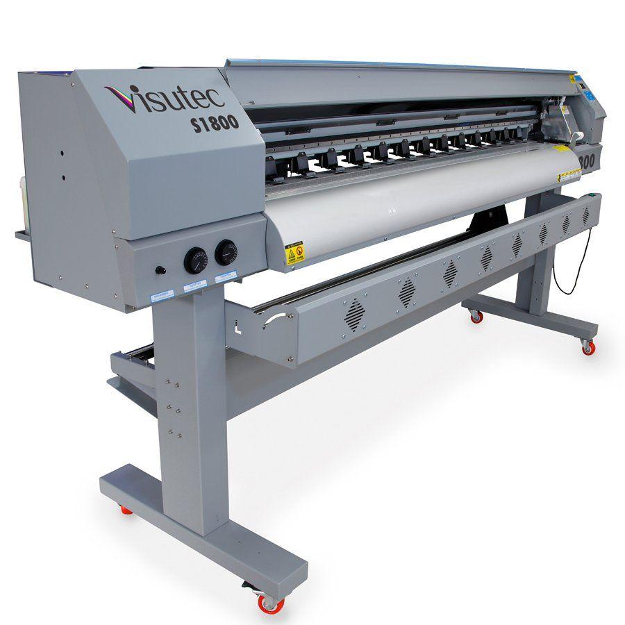 Plotter Digital de Impressão Solvente S1800 - Multivisi / Visutec
