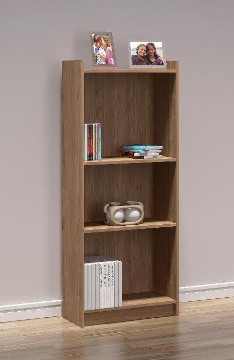 Estante para Livros com 136 cm de Altura - Politorno