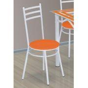 Kit 04 Cadeiras 135 Aço Carbono Pintura Epóxi - Marcheli