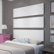 Painel Multifuncional para Cabeceira de Casal BW 05 TV Home  - BRV Móveis
