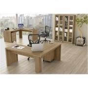 Ambiente para Home Office 06 Peças Amendoa - Tecno Mobili