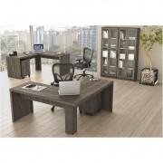 Ambiente para Home Office 06 Peças Carvalho - Tecno Mobili