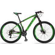 Bicicleta Aro 29 Quadro 15 Alumínio 21v com Suspensão Freio Disco Z4X - Dropp