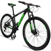 Bicicleta Aro 29 Quadro 19 Alumínio 21v com Suspensão e Freio Disco Orion - Spaceline