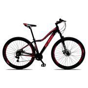 Bicicleta Feminina Sunny Aro 29 Quadro 17 Alumínio 21v Suspensão Freio a Disco - KSW