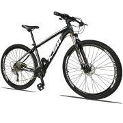Bicicleta Quadro 15 Aro 29 Alumínio 27v Freio Disco Hidráulico XLT 2.0 - KSW
