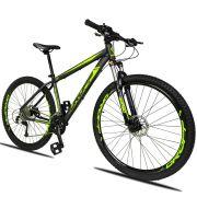 Bicicleta Quadro 15 Aro 29 Alumínio 27v Marchas Freio Disco Hidráulico R3 2019 - Dropp