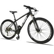 Bicicleta Quadro 19 Aro 29 Alumínio 27v Freio Disco Hidráulico XLT 2.0 - KSW