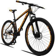 Bicicleta Quadro 21 Aro 29 Alumínio 27v Freio Disco Hidráulico Z3-20 - Dropp