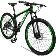 Bicicleta Quadro 21 Aro 29 Alumínio Altus 27 Marchas Freio a Disco Hidráulico - Dropp