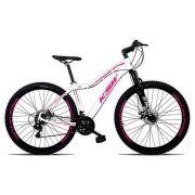 Bicicleta Sunny Feminina Aro 29 Quadro 15 Alumínio 21v Suspensão Freio a Disco - KSW
