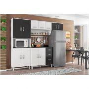 Cozinha Compacta com Balcão Franciele - Poliman