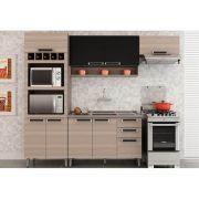 Cozinha Modulada 04 Peças com Espaço para Microondas Jazz - Itatiaia