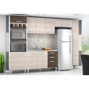 Cozinha Modulada Bruna 05 Módulos - Poquema