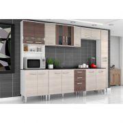 Cozinha Modulada Bruna 07 Módulos - Poquema