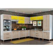 Cozinha Modulada Hortelã 13 Peças - Albatroz