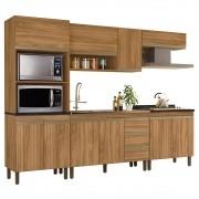 Cozinha Modulada Karen 5 Módulos 7650 P14 Nature - Mpozenato