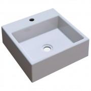Cuba Pia De Apoio Para Banheiro Quadrada Q355W Cinza C08 - Mpozenato