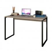 Escrivaninha Mesa de Escritório Studio Industrial 120 M18 Carvalho Bruma - Mpozenato