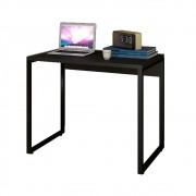Escrivaninha Mesa de Escritório Studio Industrial 90 M18 Preto - Mpozenato