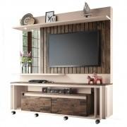 Estante Home Painel para TV até 60 Pol Eclipse Off White/Deck - HB Móveis