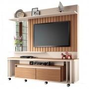 Estante Home Painel para TV até 60 Pol Eclipse Off White/Nature - HB Móveis