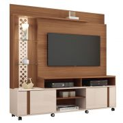 Estante Home Theater Para TV ate 55 Pol. Vitral 2 Portas - HB Moveis