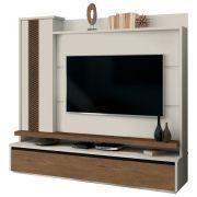 Estante Home Theater Para TV até 60 Pol. Cenário 1 Porta - EDN Móveis
