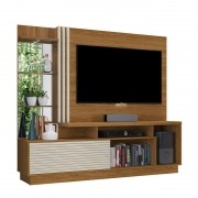 Estante Home Theater Para TV até 60 Pol. Frizz Plus 2 Portas - Madetec