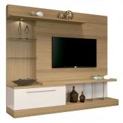 Estante Home Theater Para TV até 60 Polegadas Allure Freijó/Off White - HB Móveis