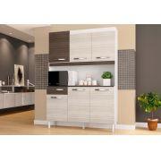 Kit Cozinha Compacta Carine 06 Portas - Poquema