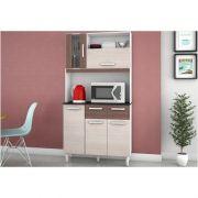 Kit Cozinha Compacta Ellen 05 Portas - Poquema