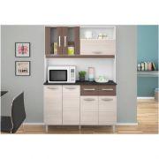 Kit Cozinha Compacta Ellen 07 Portas - Poquema