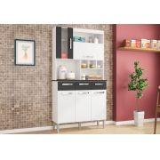 Kit Cozinha Compacta Melissa 05 Portas - Poquema