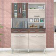 Kit Cozinha Compacta Melissa 7 Portas - Poquema