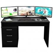 Mesa Computador PC Notebook Desk Gamer TUF DRX 5000 Preto - Móveis Leão