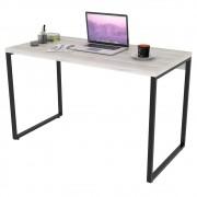 Mesa de Escritório Office 120cm Estilo Industrial Prisma C08 Snow - Mpozenato