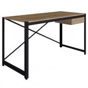 Mesa Para Computador Escrivaninha 1 Gaveta Steel Light Vermont - Artesano