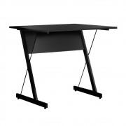 Mesa Para Computador Escrivaninha Zetta 120cm Pés Metálicos - Fit Mobel