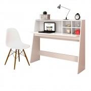 Mesa para Computador Notebook Escrivaninha Idealle e Cadeira Charles C09 - Mpozenato