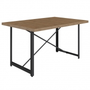 Mesa Para Sala de Jantar Steel Light - Artesano