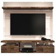 Painel para TV Livin 1.6 Suspenso com Bancada - HB Moveis