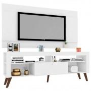 Painel Seattle com Rack Quebec para TV até 60 Polegadas Branco - Art in Móveis