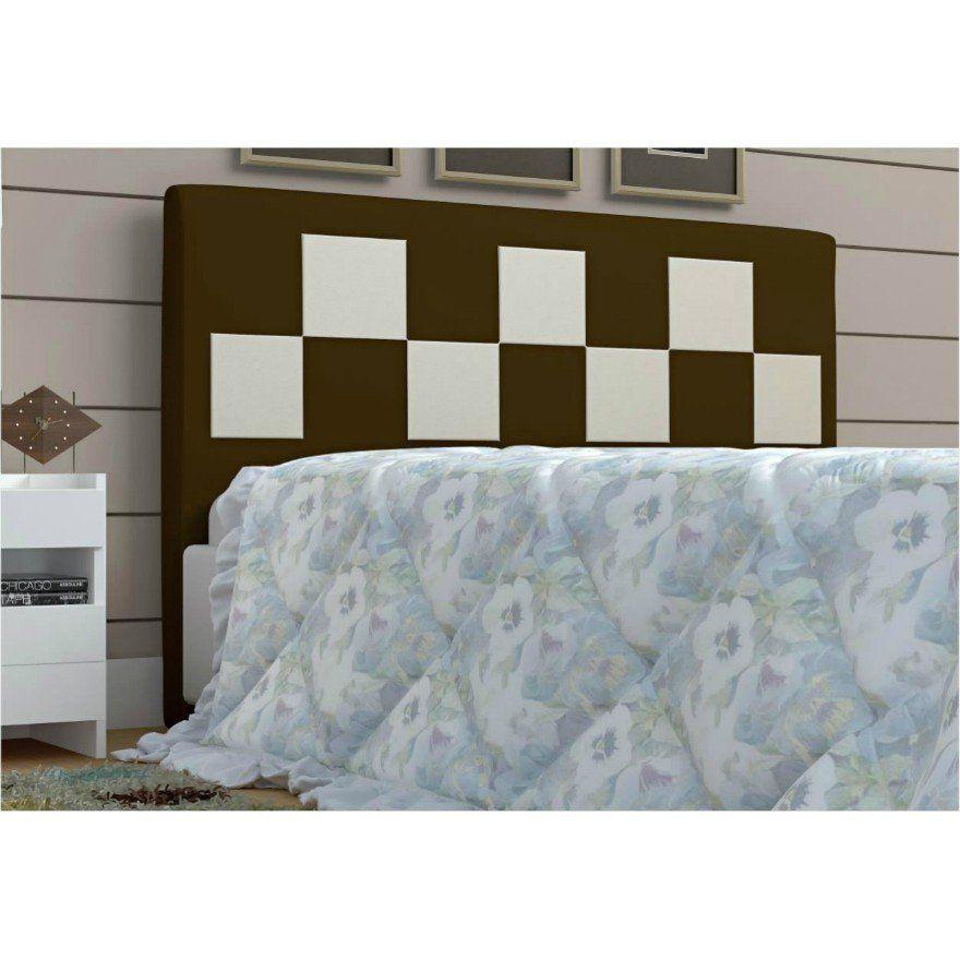 Cabeceira Glenda para Cama Box King Size 186 cm - Bremol