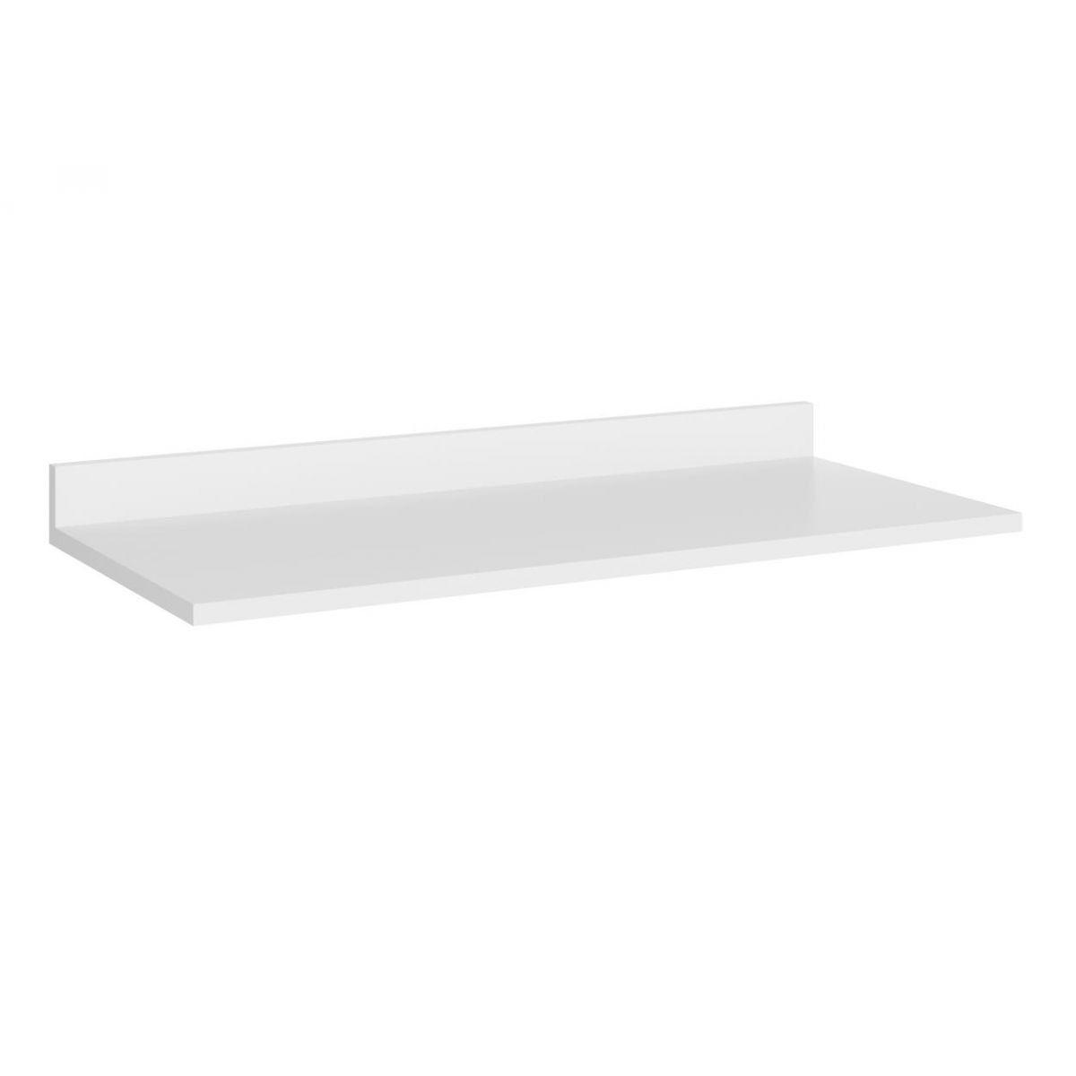 Tampo para Balcão 120 cm Branco Texturizado Toscana - Multimóveis