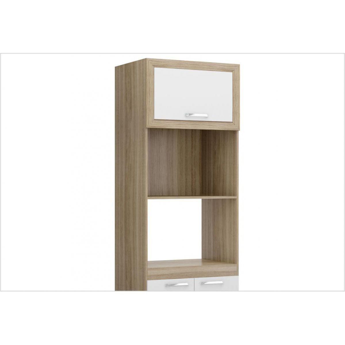 Torre Quente para Cozinha Modulada com espaço para Forno e Micro-ondas 70 cm 5020 Toscana - Multimóveis