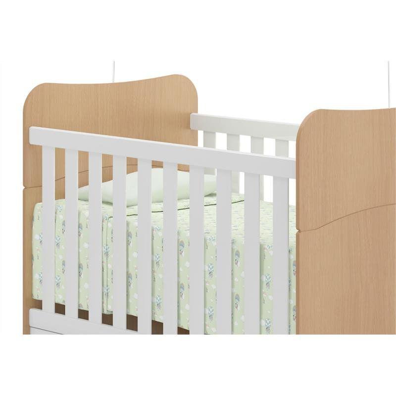 Berço Mini Cama 0502 Americano - Multimóveis Baby