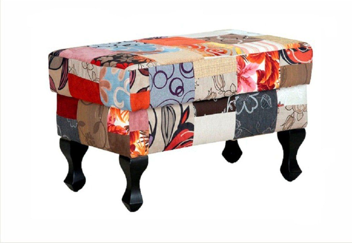 Puff Decorativo Anastacya Patchwork - Domi