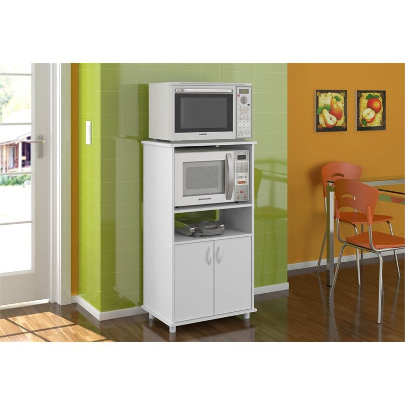 Armário de Cozinha para Microondas e Forno Elétrico Blumenau - Politorno
