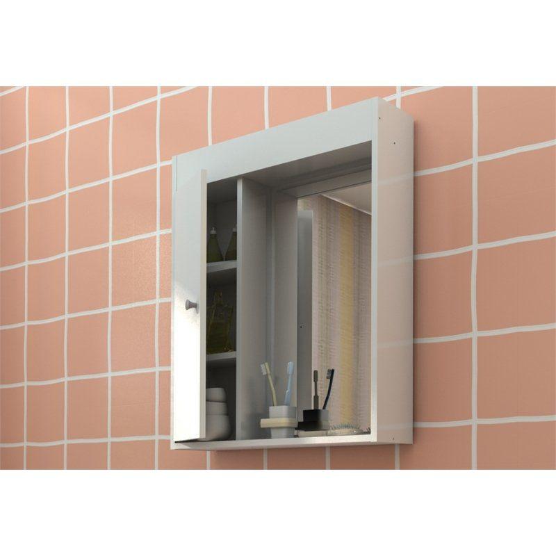 Armário para Banheiro com Espelho - Politorno
